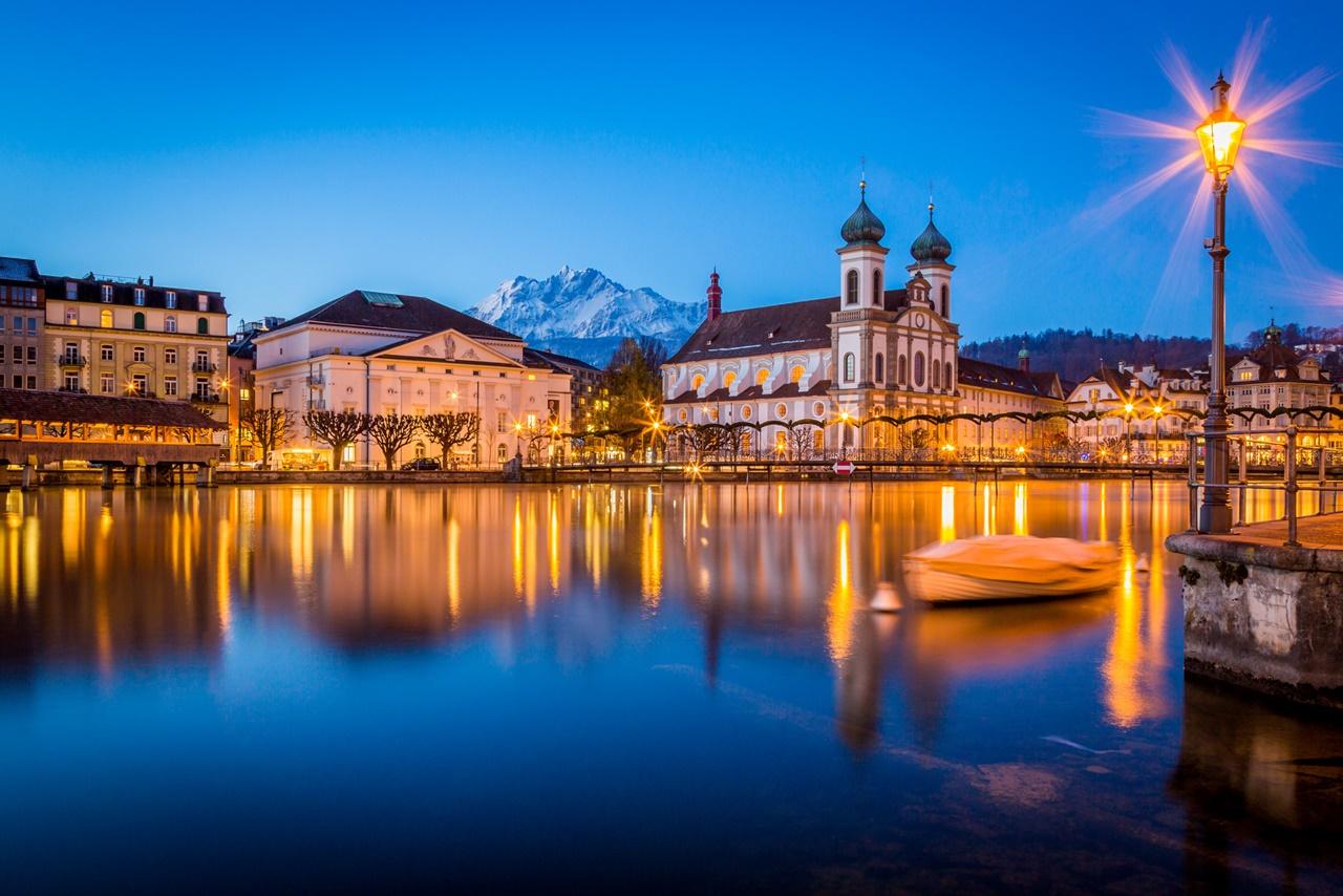 Thành phố Lucerne xinh đẹp